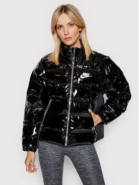 Nike Nike Пухено яке Icon Clash CU6712 Черен Regular Fit