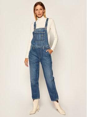 Pepe Jeans Pepe Jeans Kelnės su petnešomis Siren PL230314 Tamsiai mėlyna Regular Fit