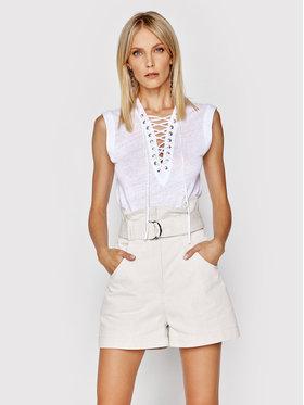 IRO IRO Блуза Handrea A0683 Бял Regular Fit
