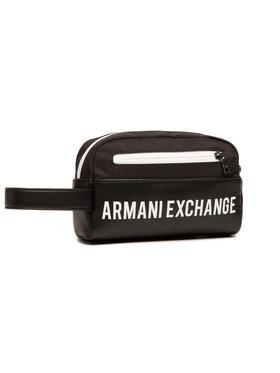 Armani Exchange Armani Exchange Kozmetická taštička 958410 1P007 42520 Čierna