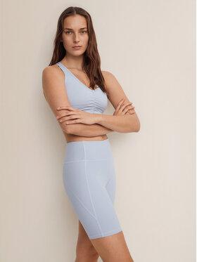 Mango Mango Pantaloni scurți sport Lindsay 87097624 Albastru Slim Fit