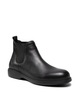 Geox Geox Členková obuv s elastickým prvkom U Ottavio C U16DCC 00043 C9999 Čierna