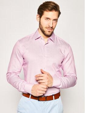 Boss Boss Košeľa Joram 50427967 Ružová Slim Fit