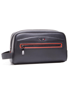 Tommy Hilfiger Tommy Hilfiger Несесер 2Mb Washbag AM0AM06796 Черен