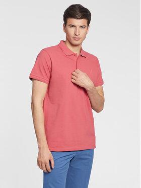 Vistula Vistula Тениска с яка и копчета Mike XA1270 Розов Regular Fit