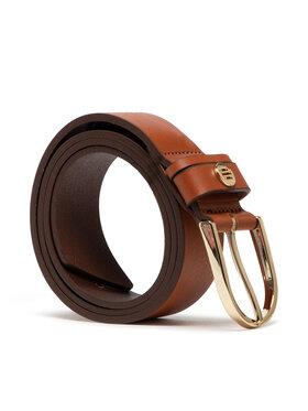 Tommy Hilfiger Tommy Hilfiger Жіночий ремінь Classic Belt 3.5 AW0AW10073 Коричневий