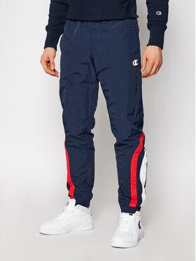 Champion Champion Pantaloni da tuta Logo Track 214264 Blu scuro Custom Fit
