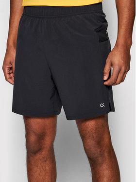 "Calvin Klein Performance Calvin Klein Performance Szorty sportowe Wo-6"" 00GMS1S829 Czarny Regular Fit"