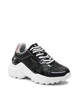 Pepe Jeans Pepe Jeans Laisvalaikio batai Eccles Croco PLS31224 Juoda
