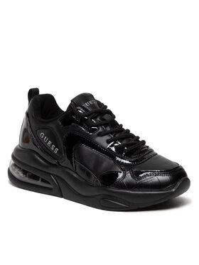 Guess Guess Sneakersy FL8FEV SMA12 Čierna
