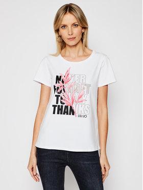 Liu Jo Sport Liu Jo Sport T-shirt TA1211 J5972 Blanc Regular Fit