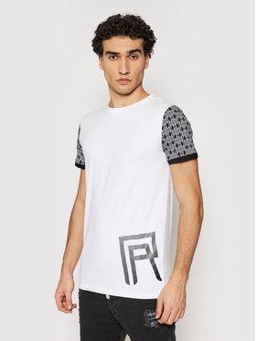 Rage Age Rage Age T-Shirt Gekko 2 Biały Slim Fit