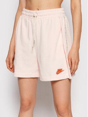 Nike Nike Pantaloni scurți sport Sportswear CZ9249 Roz Loose Fit