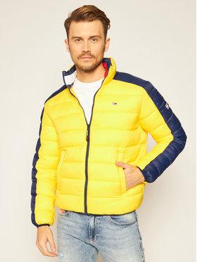 Tommy Jeans Tommy Jeans Vatovaná bunda Colorblock DM0DM08432 Žltá Regular Fit