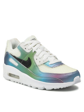 Nike Nike Обувки Air Max 90 20 (GS) CT9631 100 Бял
