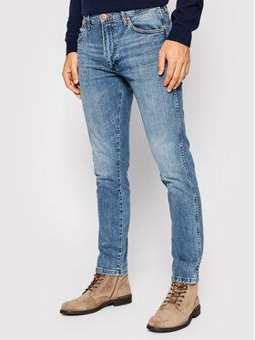 Wrangler Wrangler Jeansy Larston W18S5936A Niebieski Slim Fit