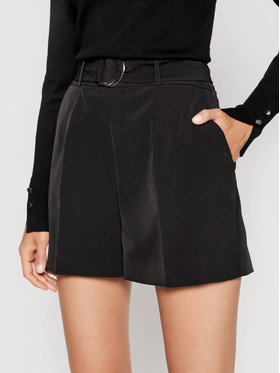 Guess Guess Stoffshorts W1GD1E WB4H2 Schwarz Regular Fit