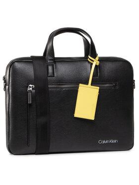 Calvin Klein Calvin Klein Torba na laptopa Ck Qt Pocket Laptop K50K505692 Czarny
