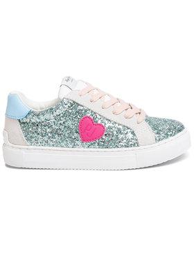 Pepe Jeans Pepe Jeans Sneakersy Adams Glitter PGS30437 Zelená