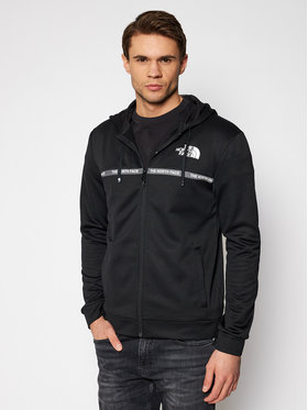 The North Face The North Face Bluză Over lay NF0A5574JK31 Negru Regular Fit