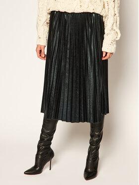 Marella Marella Suknja od imitacije kože Fondi 37760107 Crna Regular Fit