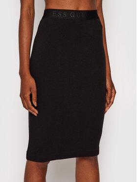 Guess Guess Pouzdrová sukně Amy W1YD98 K8RT2 Černá Slim Fit
