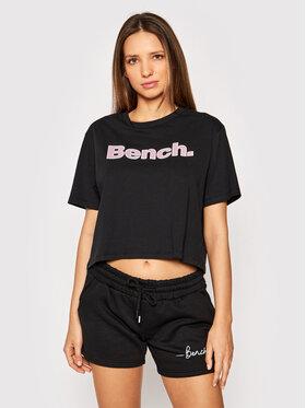 Bench Bench T-Shirt Kay 117362 Czarny Regular Fit