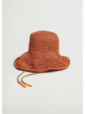 Mango Mango Pălărie Luisa 87045702 Portocaliu