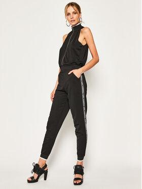 Karl Lagerfeld Karl Lagerfeld Combinaison Crepe 201W1360 Noir Regular Fit
