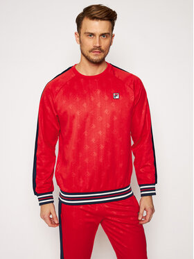 Fila Fila Sweatshirt Hinto 687883 Rot Regular Fit