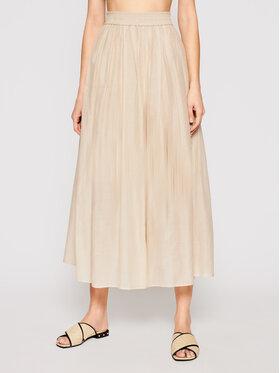 Marella Marella Kalhoty culottes Marche 31311015 Béžová Regular Fit