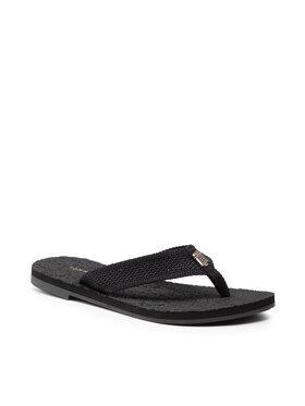 Tommy Hilfiger Tommy Hilfiger В'єтнамки Mesh Flat Beach Sandal FW0FW05765 Чорний