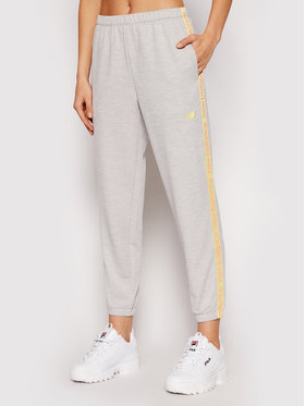 New Balance New Balance Spodnie dresowe Rlntls NBWP11185 Szary Regular Fit