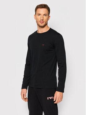 Emporio Armani Underwear Emporio Armani Underwear Longsleeve 111653 1A722 00020 Czarny Regular Fit