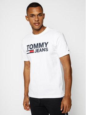 Tommy Jeans Tommy Jeans T-Shirt DM0DM04837 Weiß Regular Fit