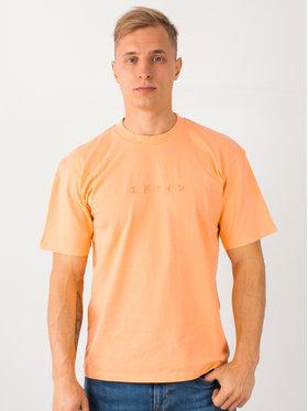 Edwin Edwin Tričko Katakana Embroidery Ts I026745 TH372M4 CTPTT Oranžová Regular Fit