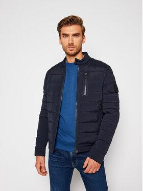 Calvin Klein Jeans Calvin Klein Jeans Пухено яке Quilted Moto J30J316664 Тъмносин Regular Fit