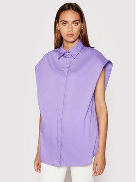 Imperial Imperial Сорочка CJU2BBE Фіолетовий Oversize