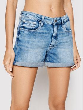 Calvin Klein Jeans Calvin Klein Jeans Džinsiniai šortai J20J215904 Mėlyna Regular Fit