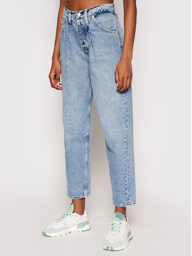 Calvin Klein Jeans Calvin Klein Jeans Jeansy J20J215846 Niebieski Baggy Fit