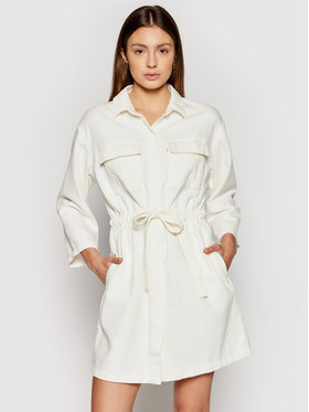 Levi's® Levi's® Vestito di jeans Ainsley Utility 34977-0003 Bianco Regular Fit