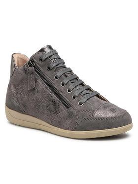 Geox Geox Sneakersy D Myria D D0468D 0VI22 C9017 Sivá