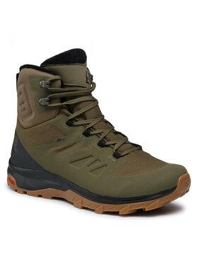 Salomon Salomon Παπούτσια πεζοπορίας Outlast Ts Cswp 407958 28 V0 Πράσινο