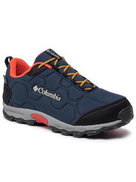 Columbia Columbia Turistiniai batai Youth Firecamp Sledder 3 Wp By1202 Tamsiai mėlyna