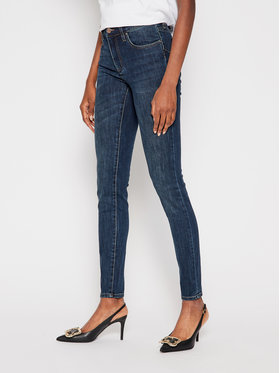 Armani Exchange Armani Exchange Skinny Fit džínsy 6HYJ69 Y2REZ 1500 Modrá Skinny Fit