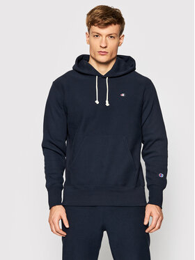 Champion Champion Džemperis Reverse Weave C Logo 216496 Tamsiai mėlyna Regular Fit