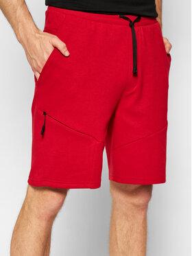 4F 4F Szorty sportowe SKMD013 Czerwony Regular Fit