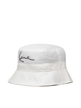 Karl Kani Karl Kani Klobouk Signature Bucket Hat 7015316 Bílá