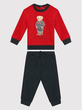Polo Ralph Lauren Polo Ralph Lauren Dres Lscn 320855675001 Czerwony Regular Fit