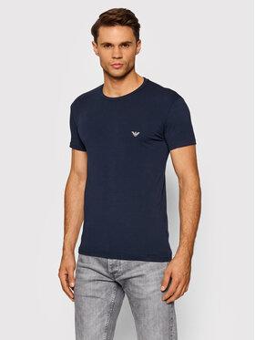 Emporio Armani Underwear Emporio Armani Underwear T-Shirt 111035 1A512 00135 Granatowy Slim Fit